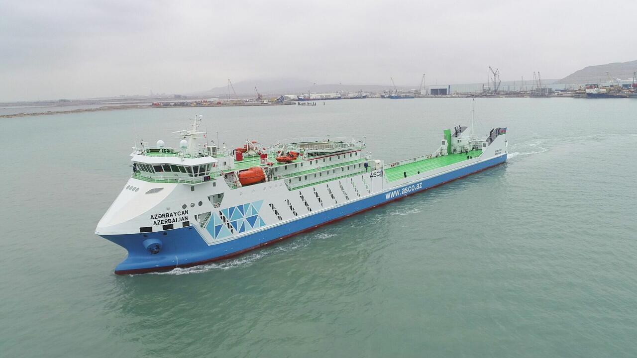 Репортаж с судна-парома типа Ro-Pax, сданного в эксплуатацию Президентом Ильхамом Алиевым