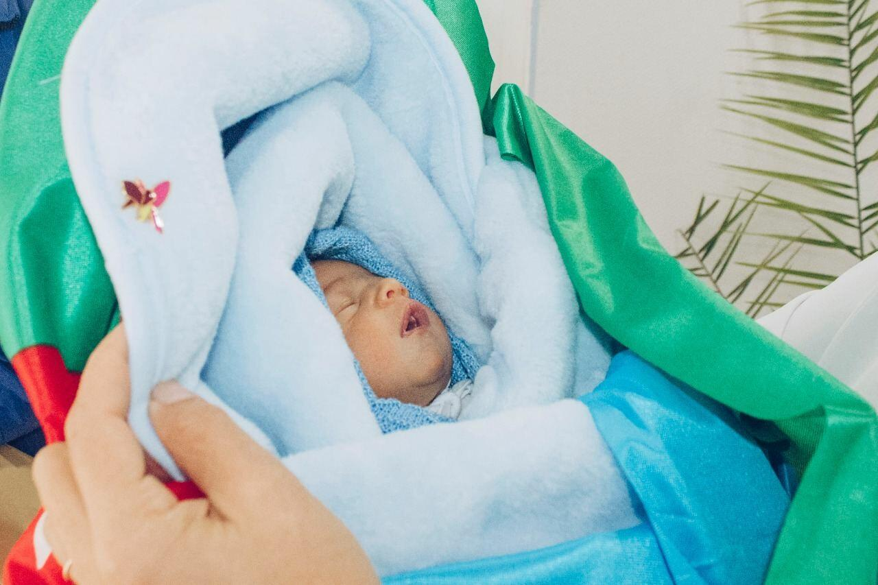 """Фонд """"YAŞAT"""" откроет счет на имя еще одного новорожденного сына шехида"""