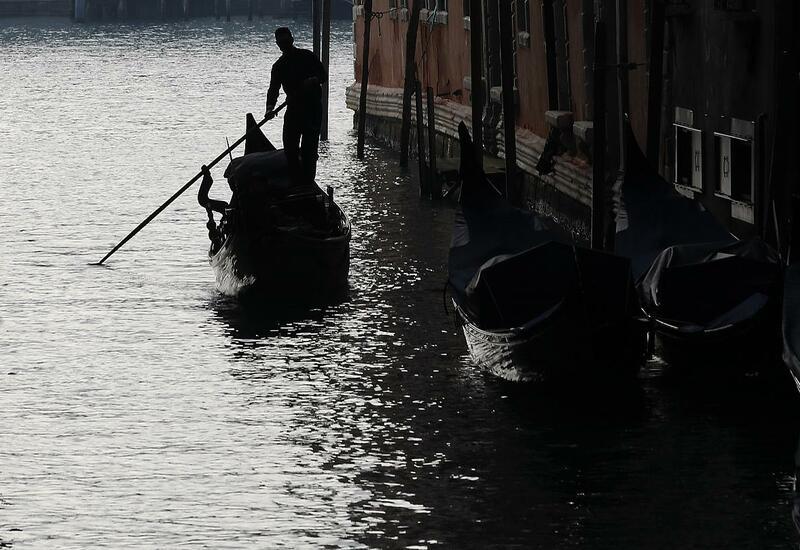 Рекордное наводнение в Венеции