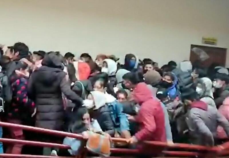 В Боливии пять студентов погибли из-за давки в университете
