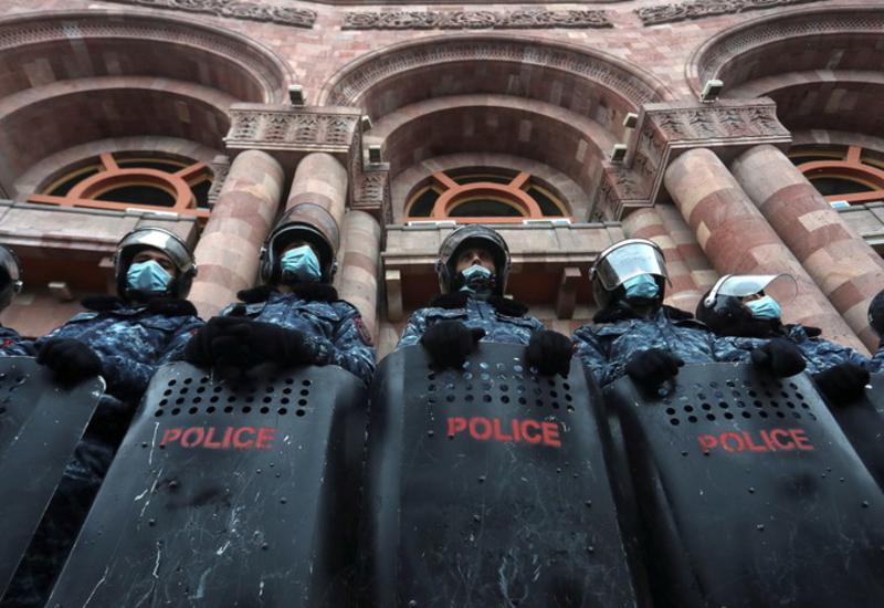 Полиция Армении предупредила о возможных провокациях оппозиции