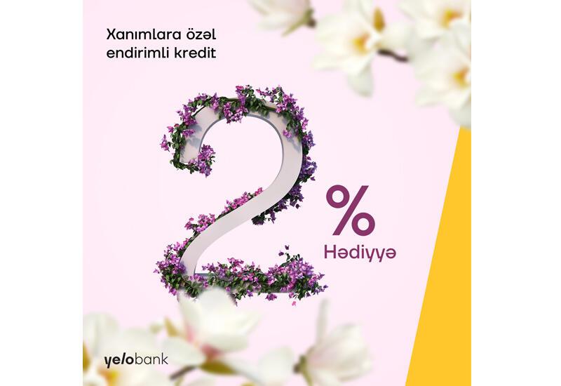 Кампания на 8 марта от Yelo Bank