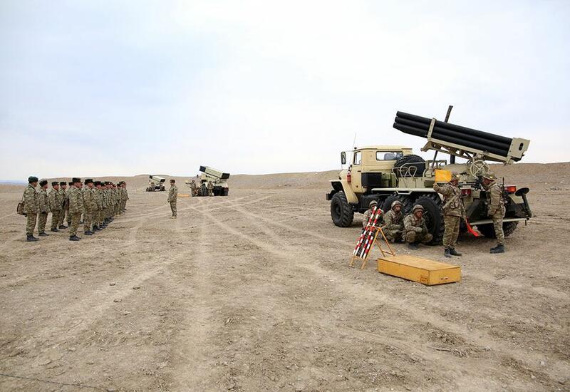 В войсках Нахчыванского гарнизона проведены занятия по командирской подготовке