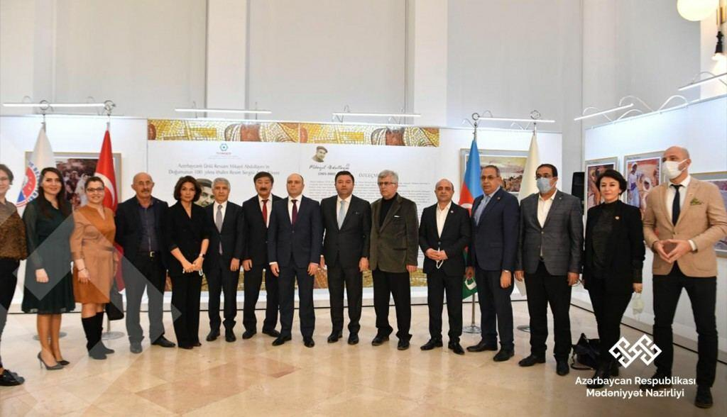 Анар Керимов встретился с известными азербайджанцами, проживающими в Турции
