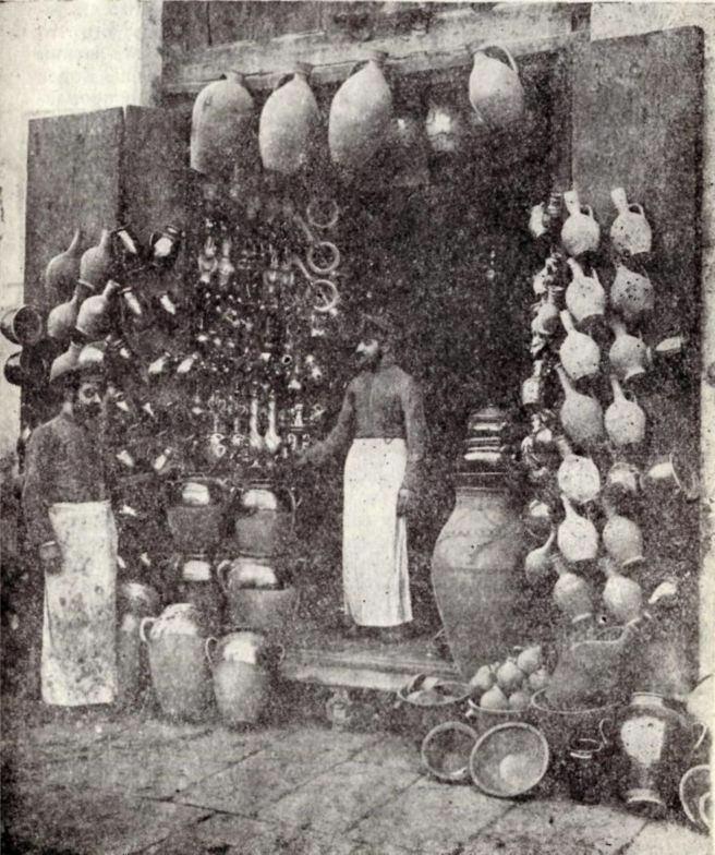 Ремесленное производство старинной Шуши