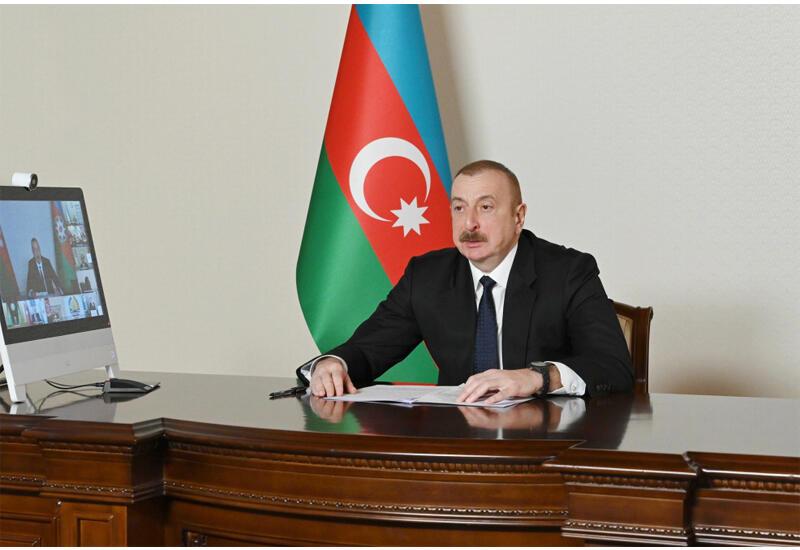 Президент Ильхам Алиев: Сегодня мы думаем о будущем