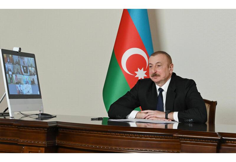 Prezident İlham Əliyev: Biz indi gələcək haqqında düşünürük