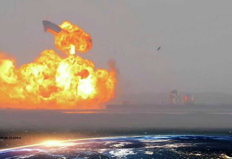 Как взорвался еще один корабль Илона Маска