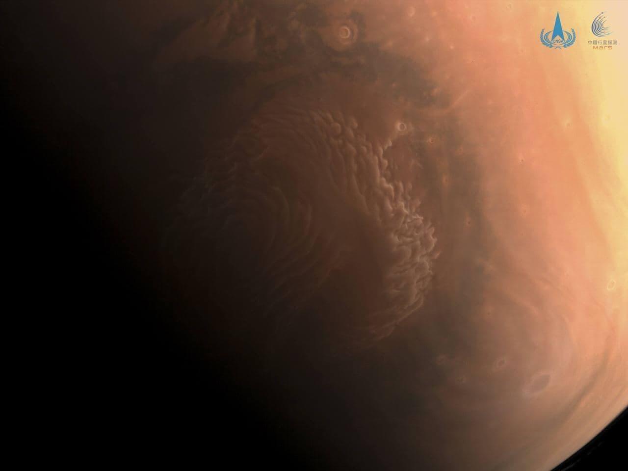 Китайский зонд прислал на Землю новые снимки Марса