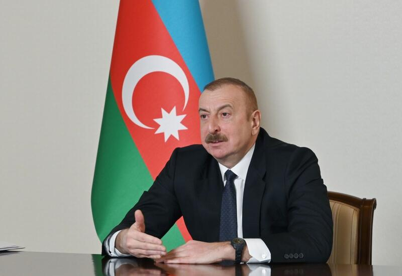 """Prezident İlham Əliyev: """"Demokratlar"""" indi niyə susurlar, niyə demirlər ki, Paşinyan bizə nümunə olmalıdır"""