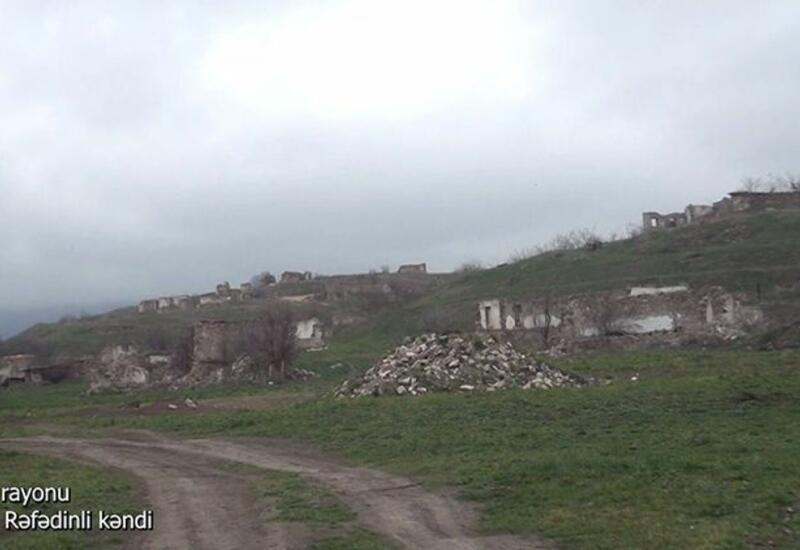 Село Юхары Рефединли Физулинского района