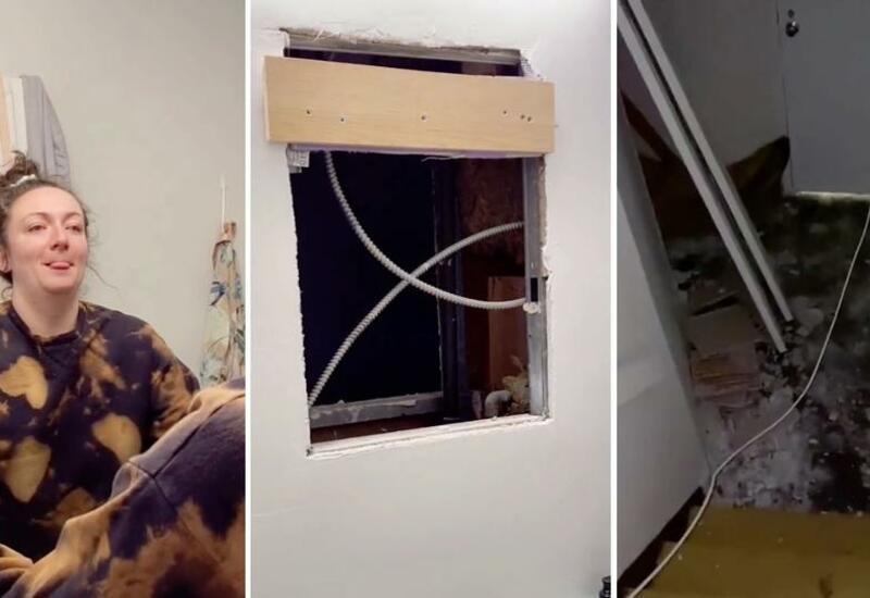 Девушка нашла за зеркалом в ванной пугающую секретную квартиру