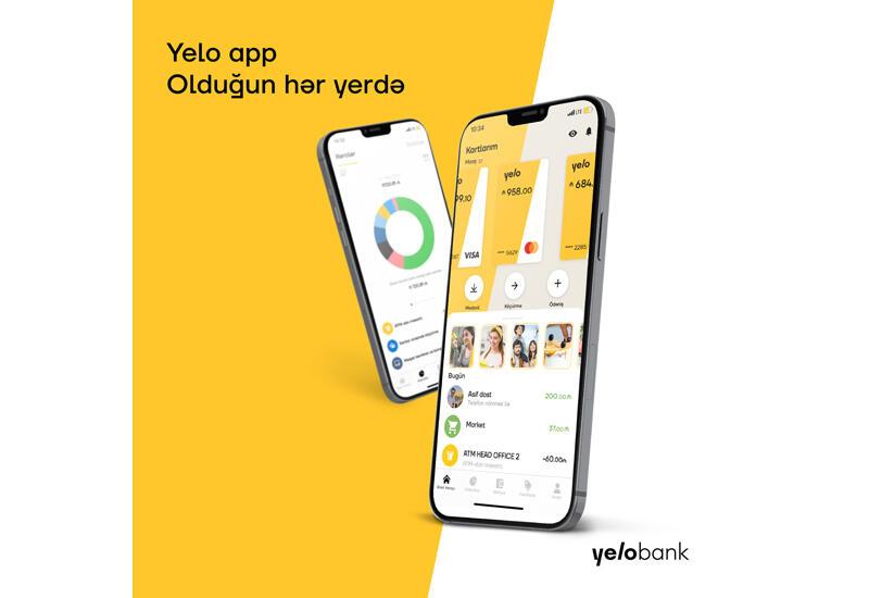 Новое яркое мобильное приложение от Yelo Bank (R)