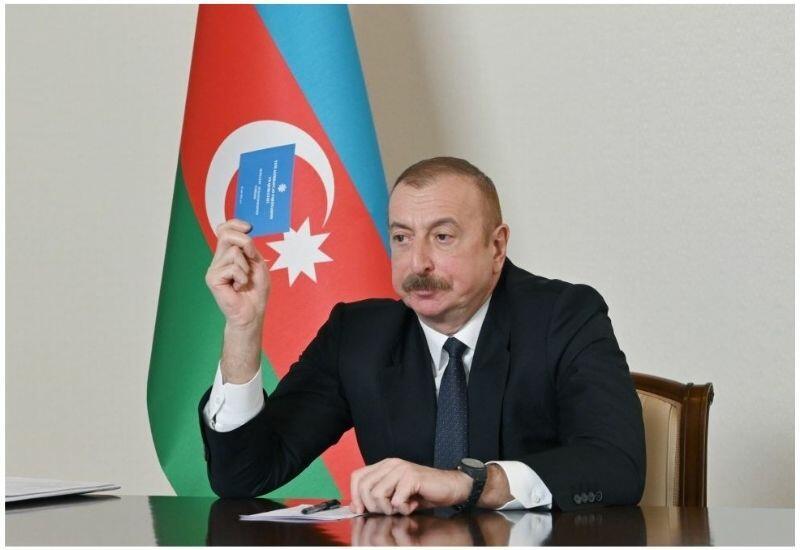 Президент Ильхам Алиев: Тандем Народный фронт-Мусават за год испортил отношения со всеми странами