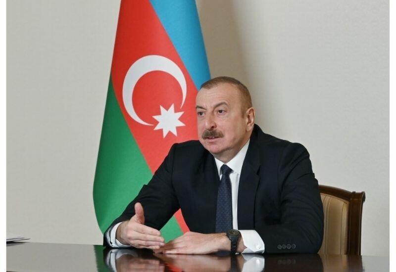 Президент Ильхам Алиев: Мы никогда, подобно Армении, не побирались, не унижались, не умоляли, ни у кого не просили помощи