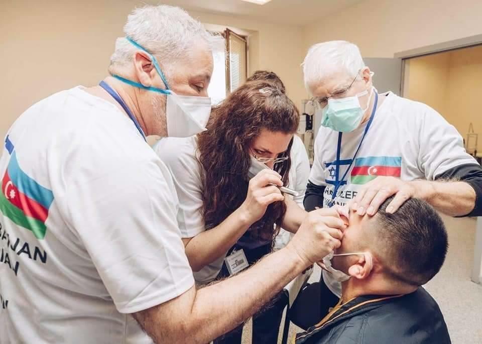 Женщина из Израиля пожертвовала азербайджанскому солдату глаза своего мужа