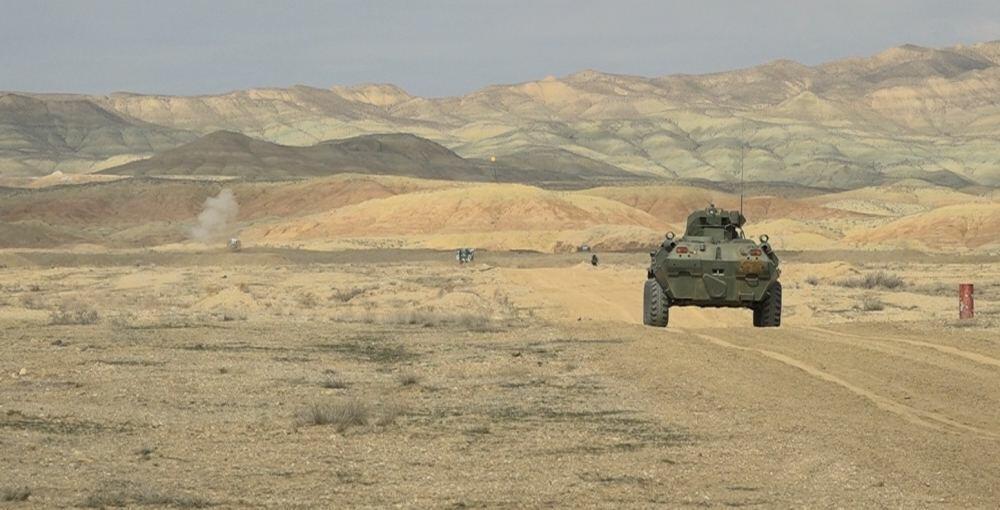 В Нахчыване проходят военные учения