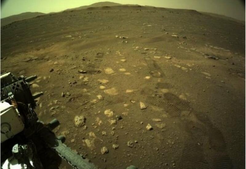 Perseverance прокатился по Марсу и прислал несколько фото