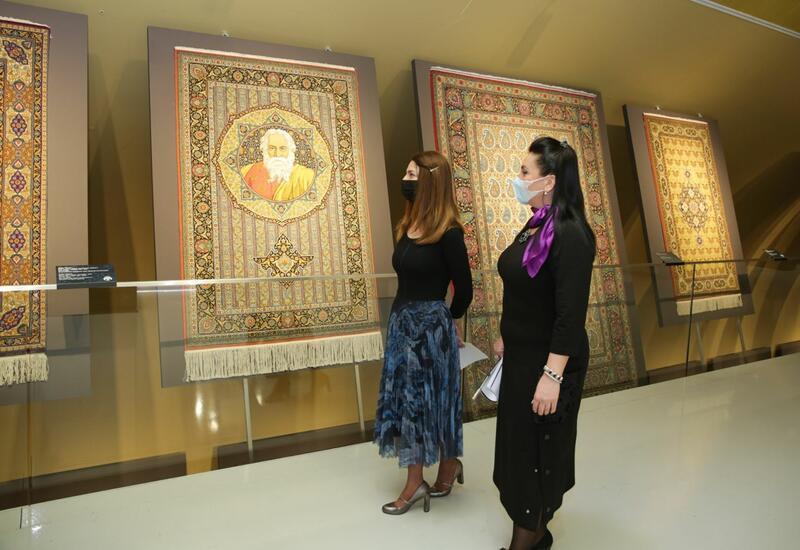 Тонкости искусства ковроткачества и портретный жанр в работах художника Кямиля Алиева