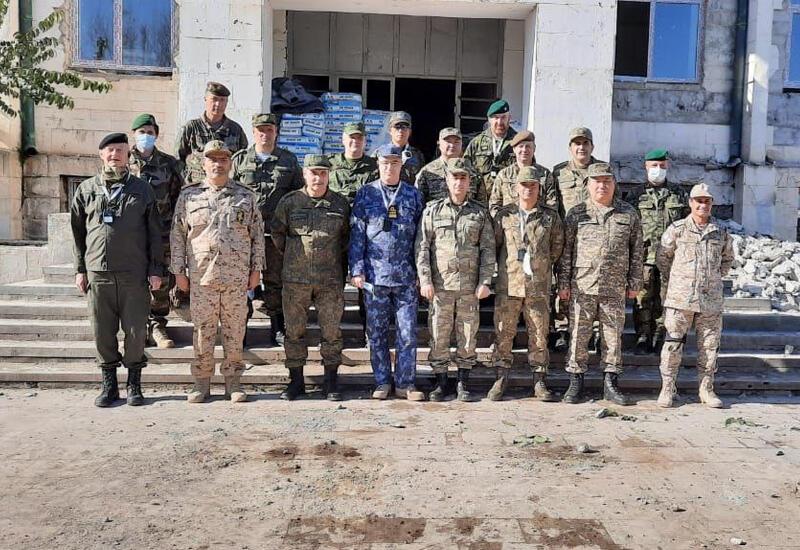Военные атташе зарубежных стран побывали в освобожденном Губадлы