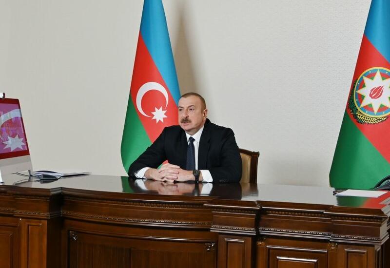 Президент Ильхам Алиев: Наша забота о семьях шехидов не ограничивается лишь предоставлением квартир или же автомобилей