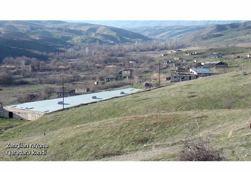 Село Гарадере Зангиланского района