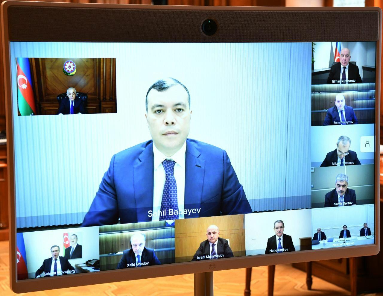 Экономический совет Азербайджана провел заседание