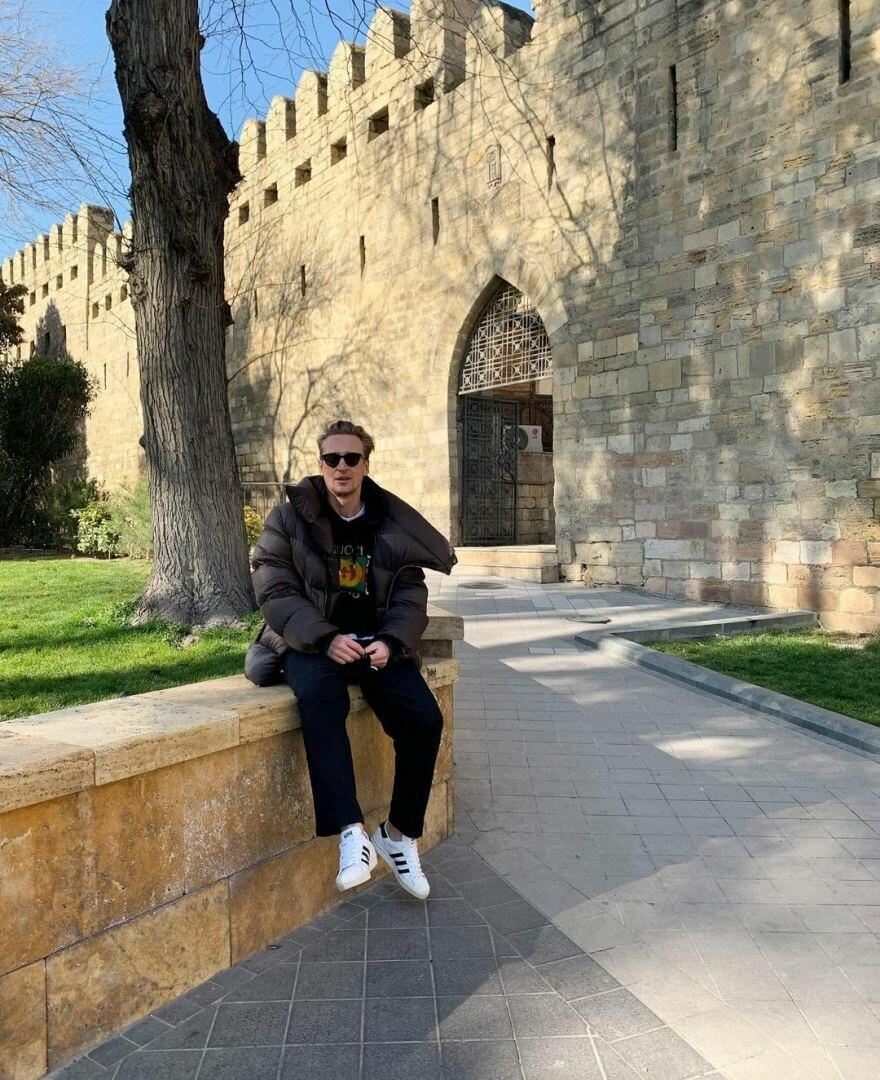 Популярный российский стилист отдохнул в Баку