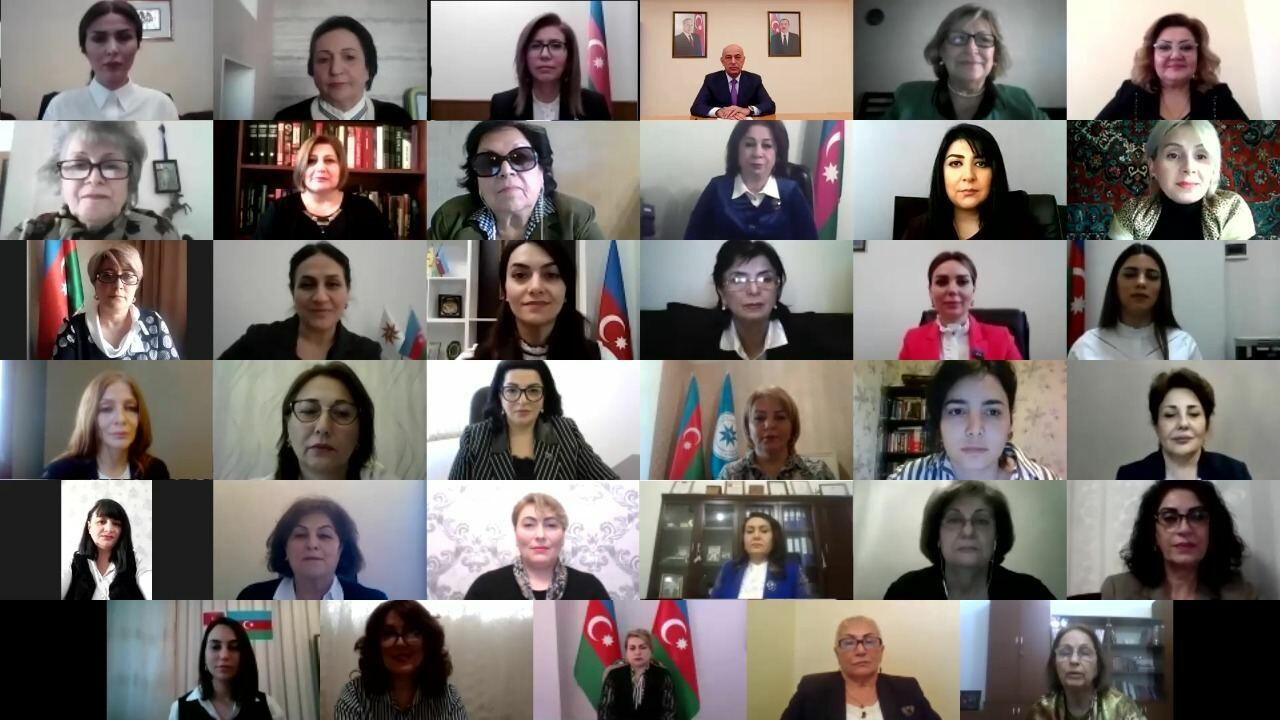 """Представительницы партий приняли участие в мероприятии """"Роль женщин в политическом диалоге"""""""