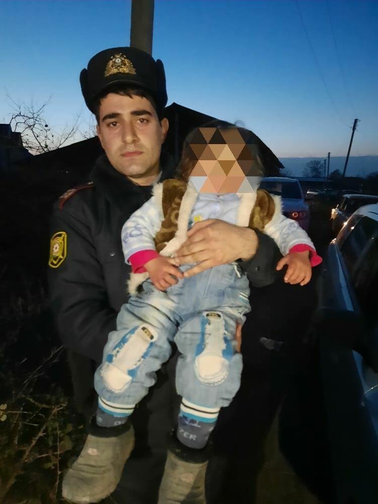 В Агдаше найден пропавший 2-летний ребенок