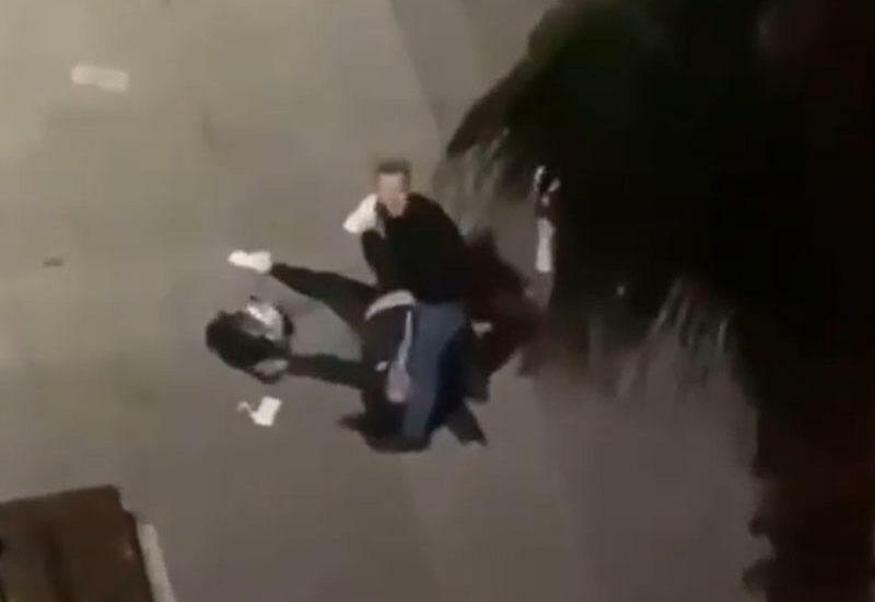 Мужчина жестоко избил жену на глазах у ребенка