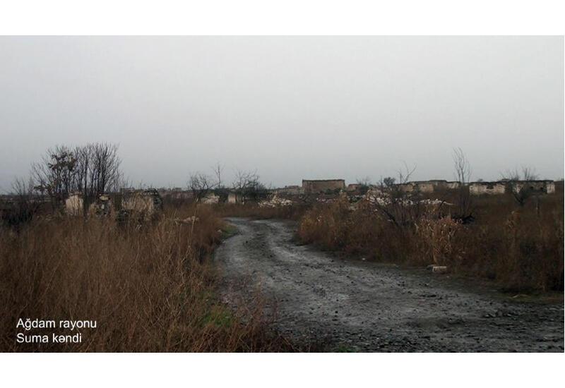 Минобороны показало еще одно село в Агдаме