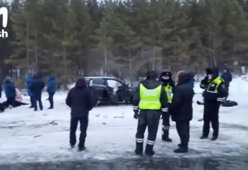 Крупное ДТП в России, много погибших