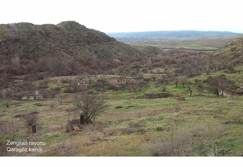 Село Гарагёз Зангиланского района