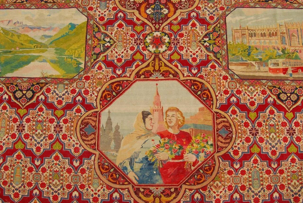 Образы женщин в азербайджанских коврах