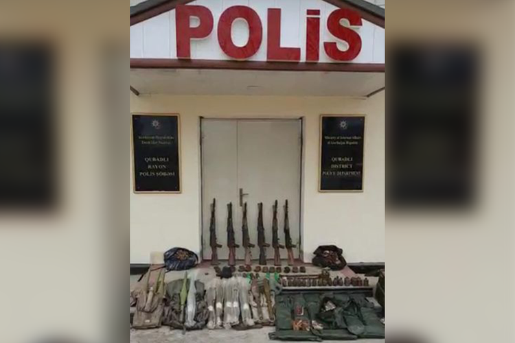 В Губадлы и Джабраиле обнаружены брошенные армянами боеприпасы