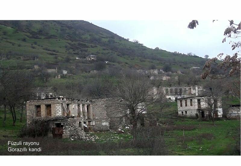 Село Горазиллы Физулинского района
