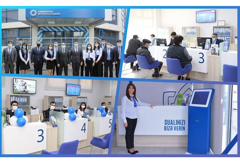 Международный Банк Азербайджана обновил еще 4 центра обслуживания (R)