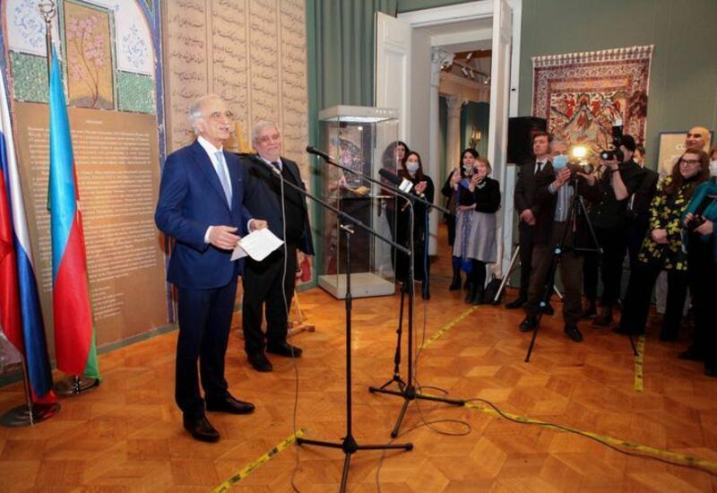 В Москве открылась выставка, посвященная 880-летию Низами