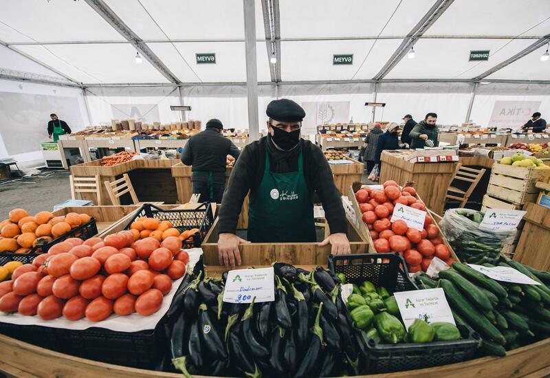 В Азербайджане возобновят работу все сельскохозяйственные ярмарки