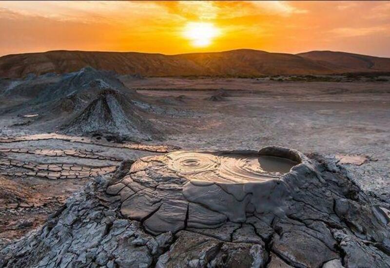 Грязевые вулканы в Азербайджане будут использоваться в туристических целях
