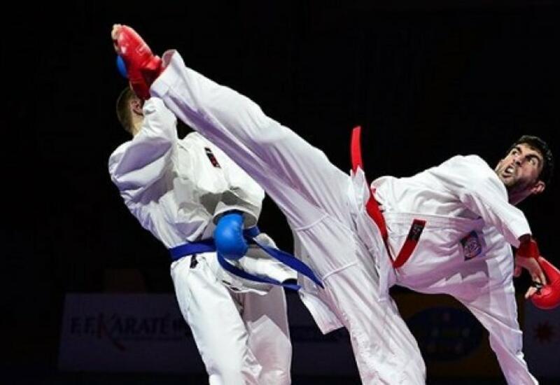 Фирдовси Фарзалиев вышел в финал турнира Премьер-лиги по карате