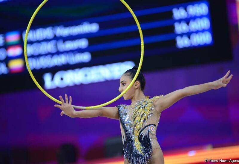 Азербайджанские спортсменки примут участие в ЧЕ по художественной гимнастике в Болгарии