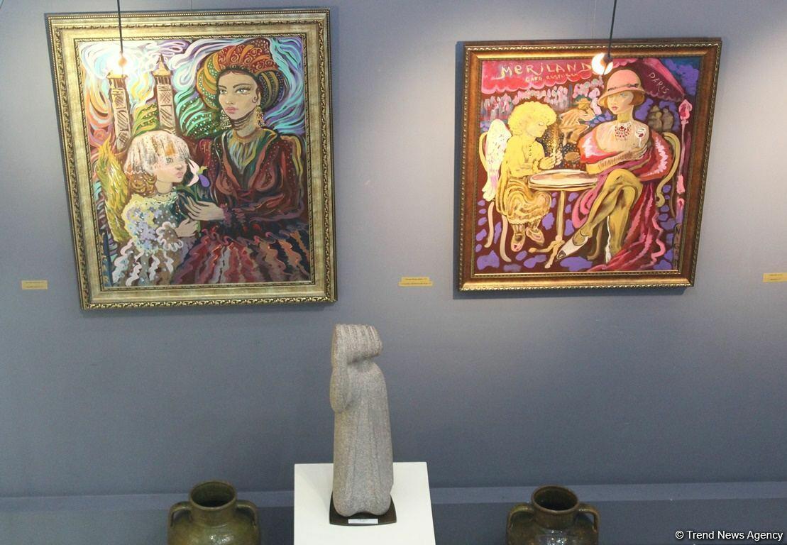 Персональная выставка Нигяр Нариманбековой впервые в Баку