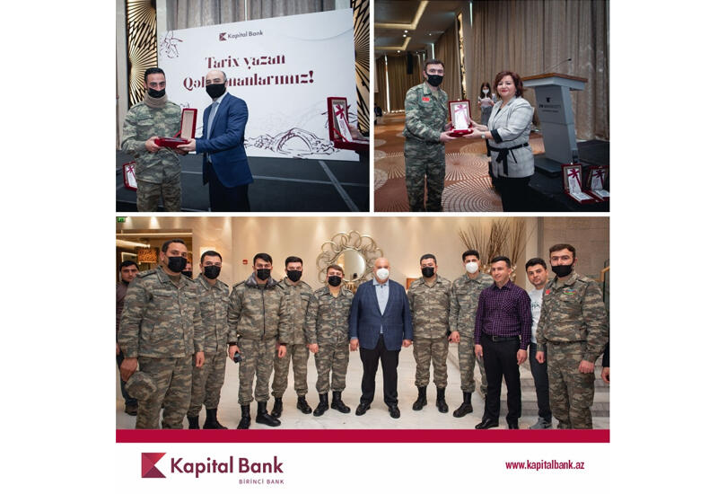 Руководство Kapital Bank провело встречу с участниками войны (R)