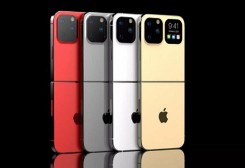 Показан дизайн первого iPhone с гибким экраном