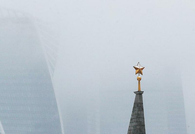 Москву накрыло огромное облако пыли