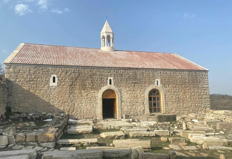 Началась поездка членов Албано-удинской христианской религиозной общины в Ходжавенд