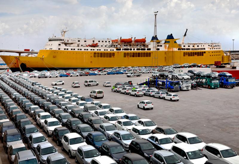 Экспорт легковых автомобилей из Грузии в Азербайджан резко сократился