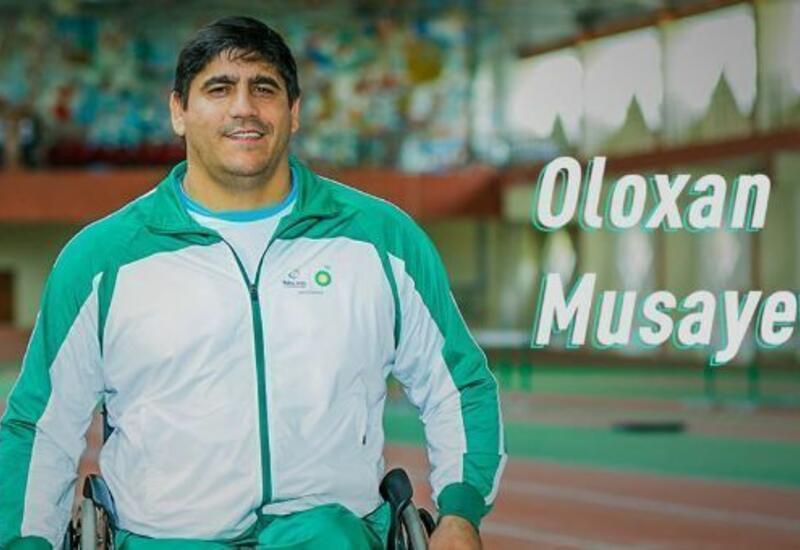 Азербайджанский паралимпиец завоевал золотую медаль в Тунисе